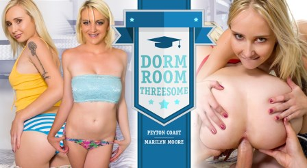 WankzVR – Dorm Room Threesome