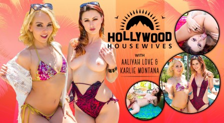WankzVR – Hollywood Housewives