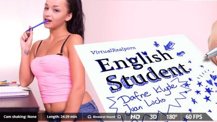 VirtualRealporn - English student
