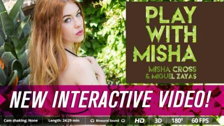 VirtualrealPorn – Play with Misha