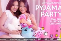VirtualrealPorn - Pyjama party