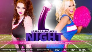 VirtualRealPorn Super Bowl night